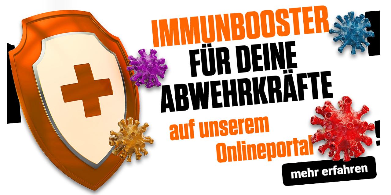 Immunbooster für Deine Abwehrkräfte